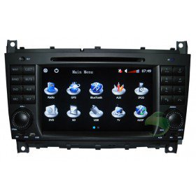 Auto DVD Player GPS Navigationssystem für Mercedes-Benz CLK W209(2004 2005)