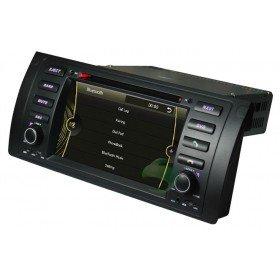 Auto DVD Player GPS Navigationssystem für BMW 5 E39 Series(1996 1997 1998 1999 2000 2001 2002 2003) BMW 520i BMW 520d BMW 523i BMW 525i BMW 525d BMW 525td BMW 525tds BMW 528i BMW 530i BMW 530d BMW 535i BMW 540i BMW M5 etc