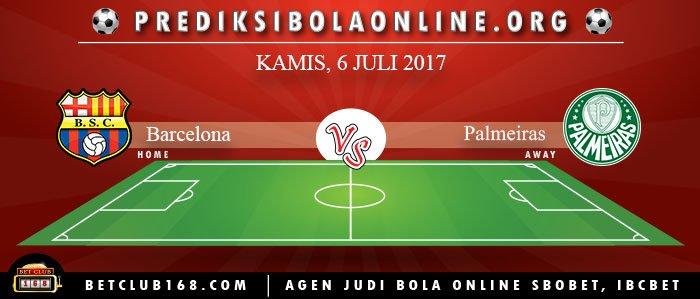 Prediksi Barcelona Vs Palmeiras 6 Juli 2017