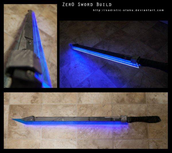 Beautiful Handcrafted Borderlands 2 Zer0 Sword