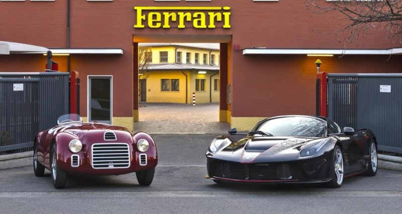 That's how Ferrari is celebrating its 70th Anniversary