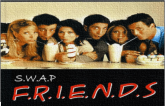 Ma vie, mes passions ....: Swap - Friends