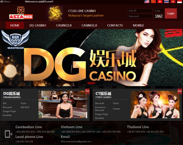 Agen Judi Casino Asia855 Online Resmi Dan Terpercaya