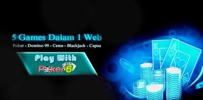 Superpoker6: Taruhan Kartu Domino di Agen Domino Terpercaya
