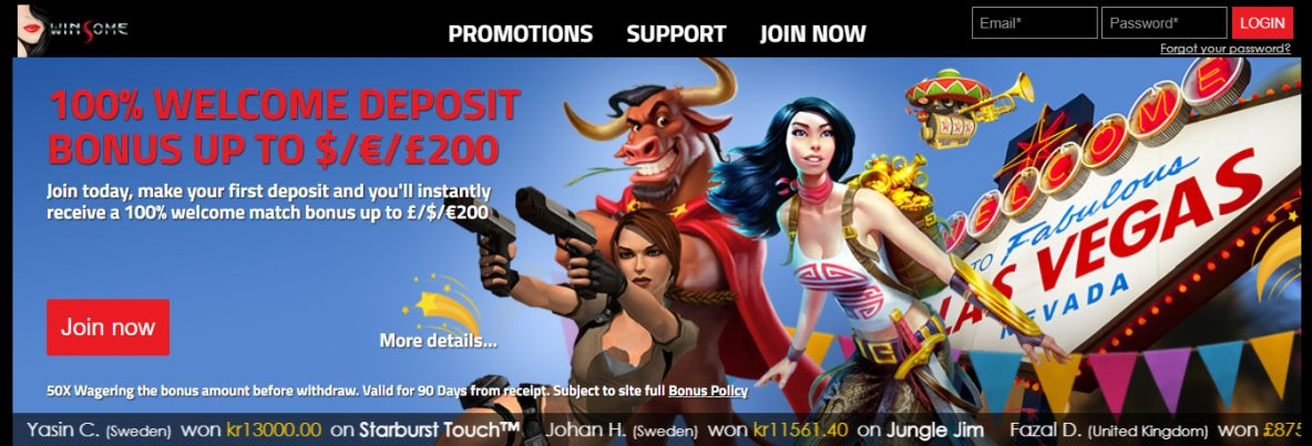 Play Best New Online Casino Games At Winsome Casino
