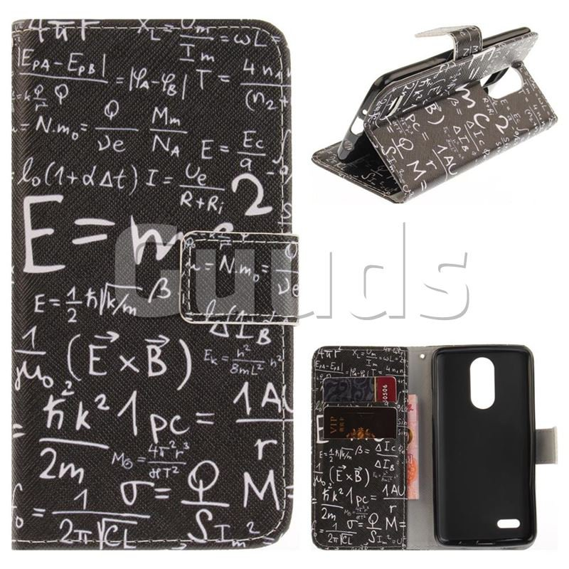 Formula PU Leather Wallet Case for LG K8 2017 US215 American version LV3 MS210 - Leather Case - Guuds