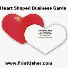 Custom shape business cards heart shaped business cards custom shape business cards heart shaped business cards colourmoves