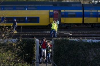 Une soixantaine de blessés dans une collision entre deux trains à Amsterdam
