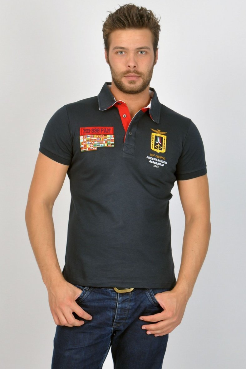 Polo-shirt Aeronautica