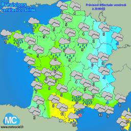 Meteociel - Météo - observations météo en temps réel et prévisions météo pour la France