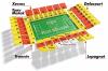 Plan du stade bollaert