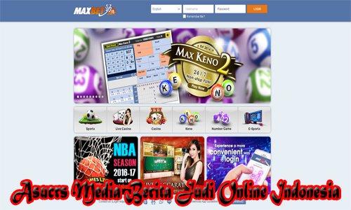 Situs Bandar Taruhan MAXBET Terpercaya Di Indonesia