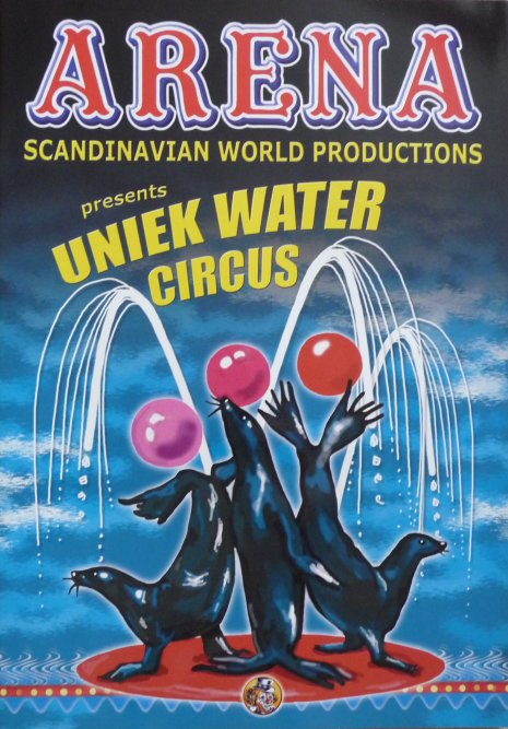 Programme cirkus ARENA 2006 - Tournée Hollande