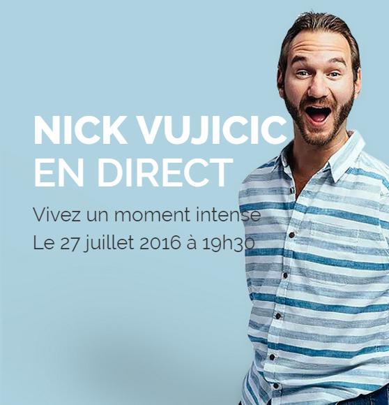 Conférence de Nick Vujicic