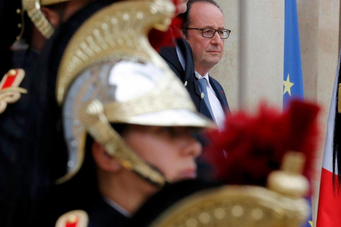 Hollande décoré lundi à New York du prix d'«homme d'Etat mondial» de l'année