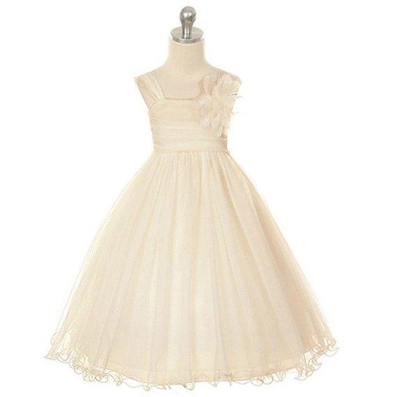 Cheap Kids Dress Tulle Tutu Dress Prom Dress/Toddler Flower Girl Dress