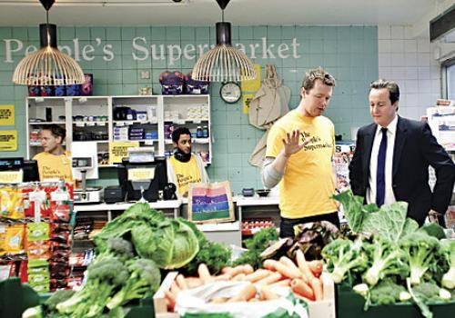 Supermarché participatif et écologique à Londres mais aussi en Ukraine!