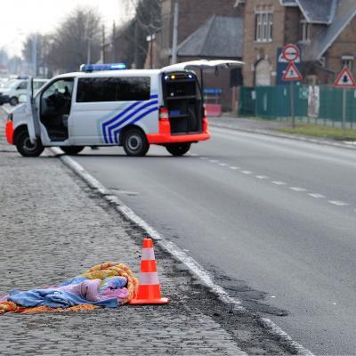 Catharina Ramu, 8 ans, tuée sur la route par un 4X4 près de Tournai: la conductrice ne serait pas en cause