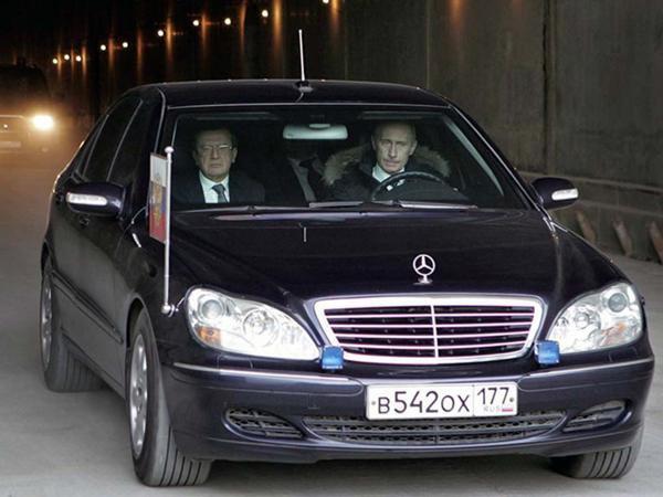 Car: Владимир Путин на чем ездит Сar, Vladimir Putin