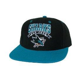 Casquette Neuve Ajustable Officielle NHL - SAN JOSE SHARKS Snapback - Casquette Noire/Turquoise: Amazon.fr: Bienvenue