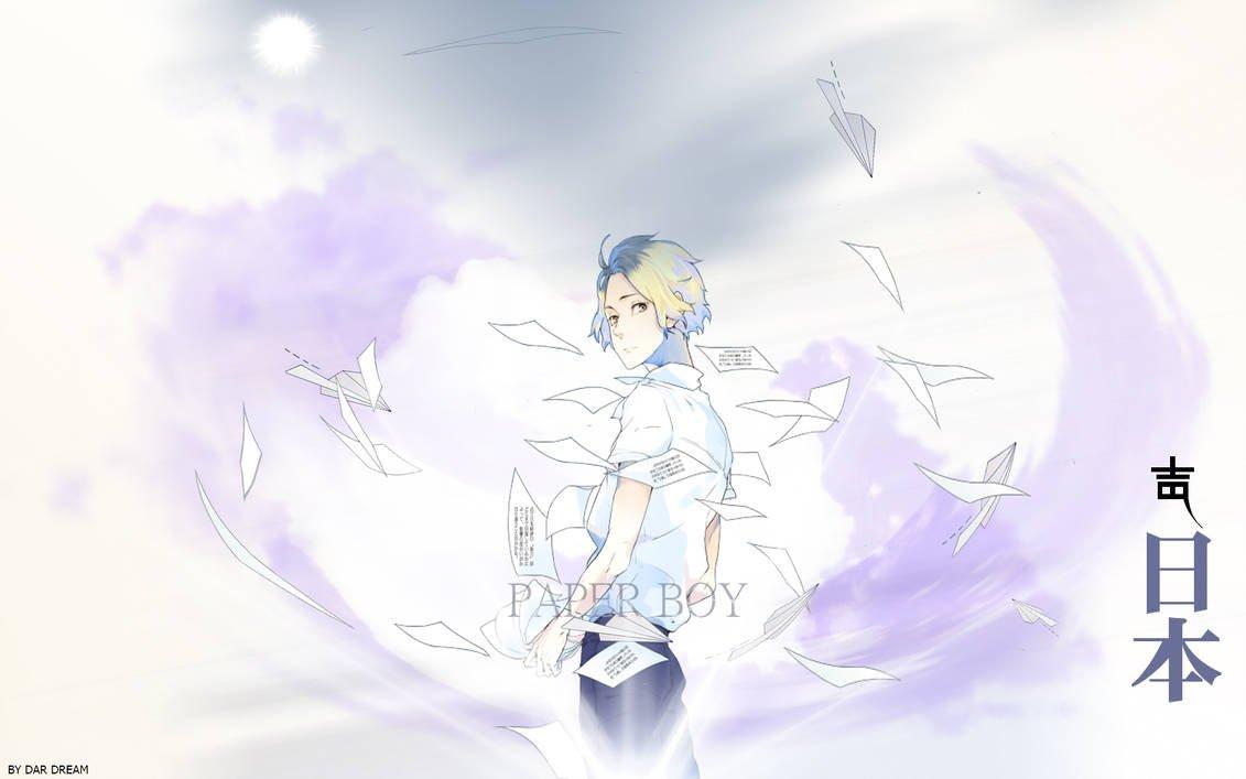 wallpaper paper boy