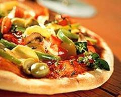 Pizzas aux légumes