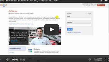 Create A Brand New Adsense Account (Not YouTube) in Five Easy Steps