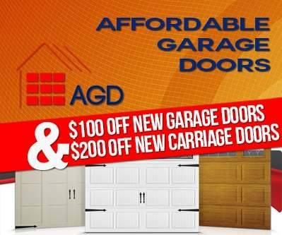 affordable garage doors ponte vedra