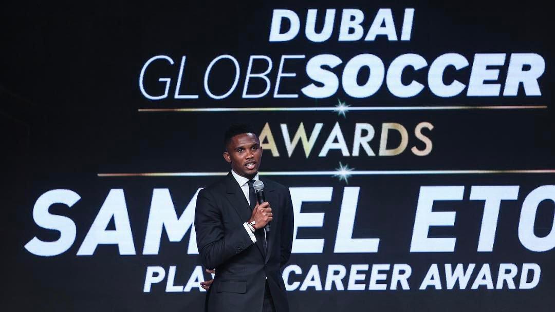 GLOBE SOCCER AWARDS DANS DUBAI