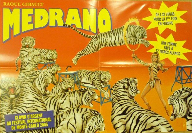 Nouveauté à vendre : Affichette cirque MEDRANO