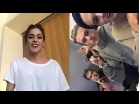 REACCION: The Vamps invitando a Tini Stoessel | Facebook Live