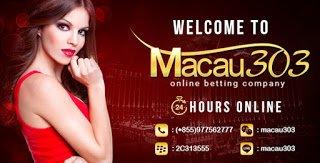 IDN SPORTSBOOK MACAU303: Situs Agen Judi Online Uang Asli Terbesar Terbaik Terlengkap Terpercaya