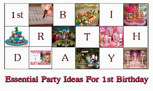 1st birthday party ideas online