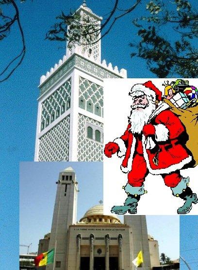 Noël: Musulmans et chrétiens fêtent Noël ensemble au Sénégal | Sunuker.com/Ruepublique.com