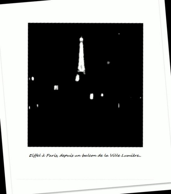 Eiffel à Paris.