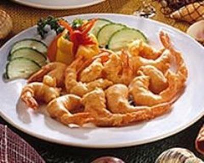 Beignets de crevettes à la japonaise