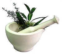 bouillie d'herbes-terciul din plante medicinale