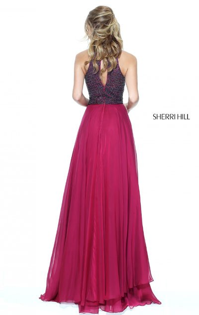 2017 Sherri Hill 50808 Ruby Long Prom Dress