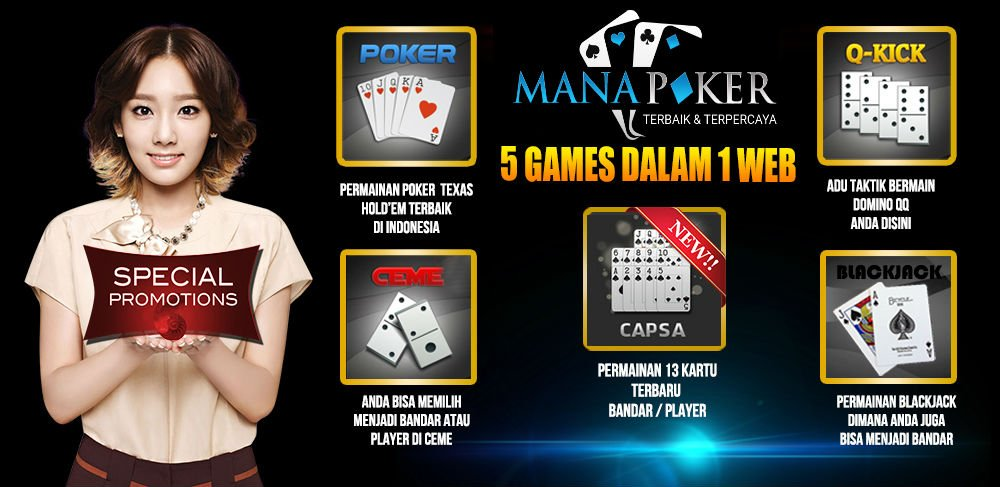 Agen Poker Indonesia Deposit 10rb | Manapoker