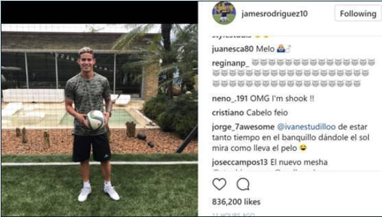 Cristiano Ronaldo Mengejek Rambut Baru James Rodriguez
