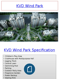 KVD Wind Park, project in Greater Noida
