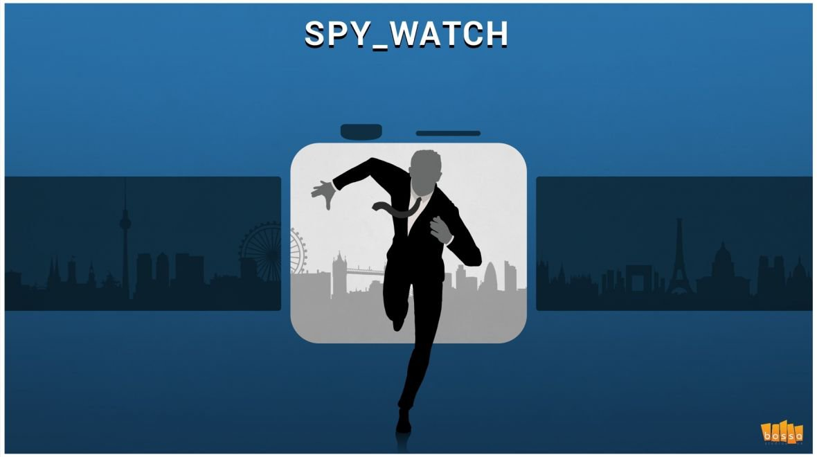 Spy_Watch to be delivered by Bossa Studios for the Apple Watch