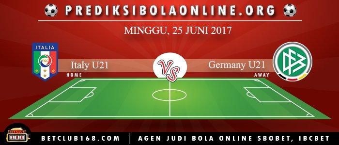 Prediksi Italy U21 Vs Germany U21 25 Juni 2017