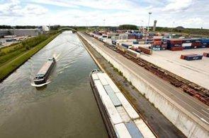 3,5 millions d'euros d'investis dans les infrastructures du port fluvial de Givet
