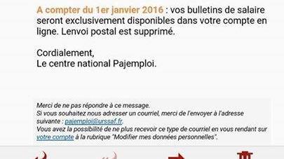 Pajemploi: Non à l'arrêt par voie postal des bulletins de salaires des assistantes maternelles!!