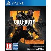 Call Of Duty Black Ops IIII Specialist Edition - Exclusivité Micromania sur PS4, tous les jeux vidéo PS4 sont chez Micromania