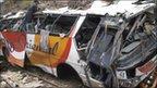 Ecuador bus crash investigated