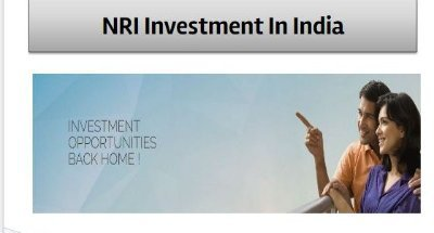 Investment opportunity by NRI in India