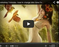 How to Change Complete skin tone on your photo in Adobe Photoshop