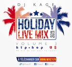 HOLIDAY LIVE MIX 2011 VOL.3 - Edition HipHop US DJ KAGE